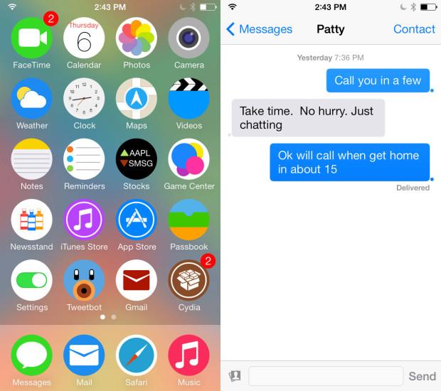 Flat7 iOS 7 Theme