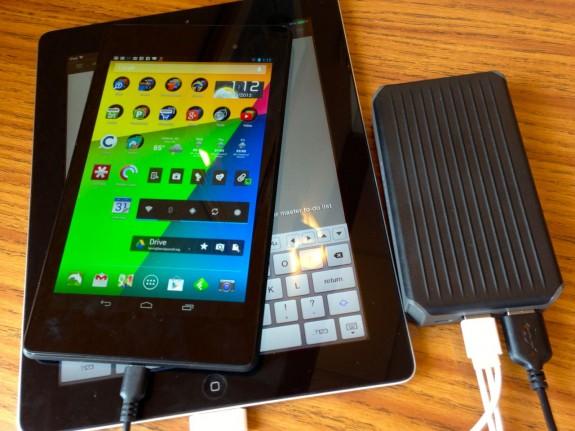 newtrent powerpak handles two tablets