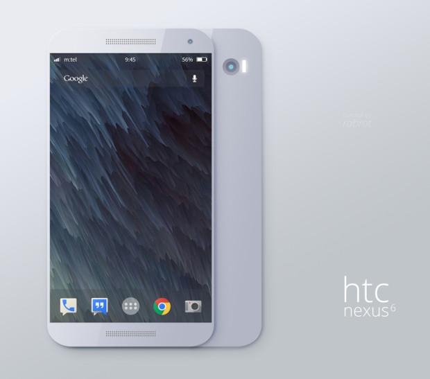 This Nexus 6 incorporates an HTC metal design.