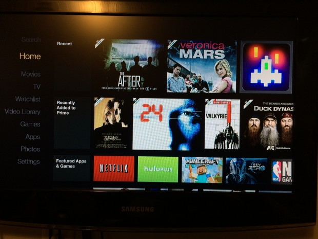 firetv user interface