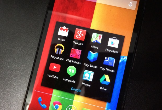 Google may change the look of the stock Android icons for Android 4.5.