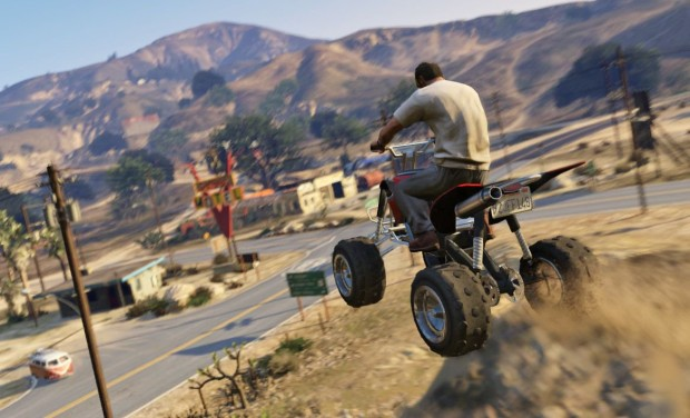 Grand Theft Auto 5 for PS4 and Xbox One