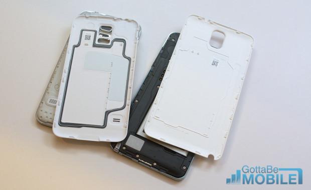 Samsung Galaxy S5 vs Galaxy Note 3 - Water Resistant