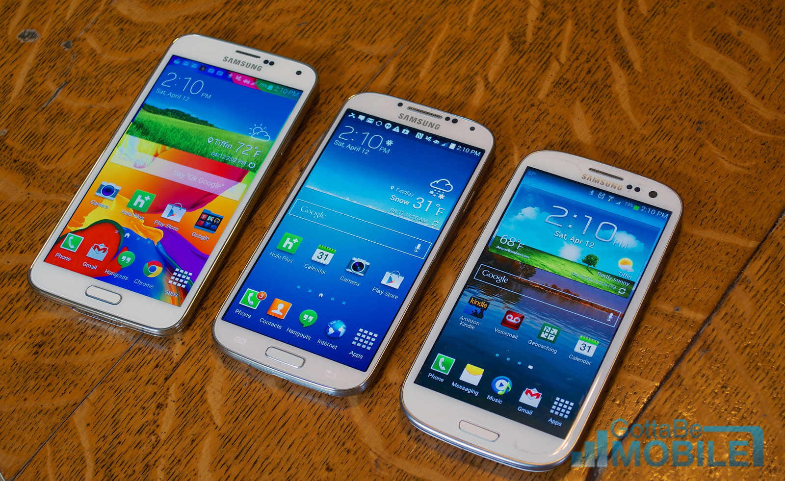 Samsung Galaxy S4 vs S5