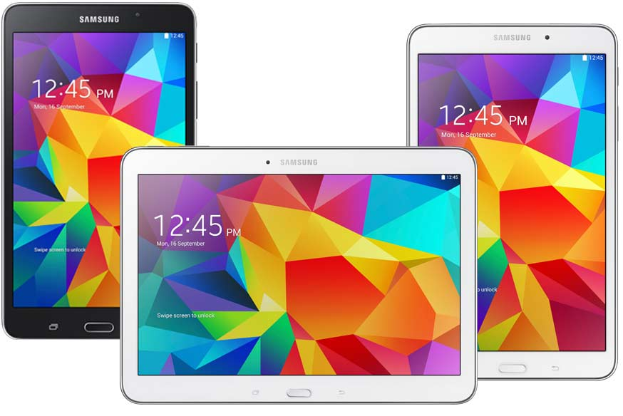 samsung galaxy tab 4 7 8 10 inch tablets arrive may 1st. Black Bedroom Furniture Sets. Home Design Ideas