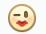 Facebook Emoticon Kiss