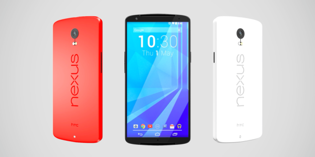 This new concept features a design reminiscent of the Nexus 5's.