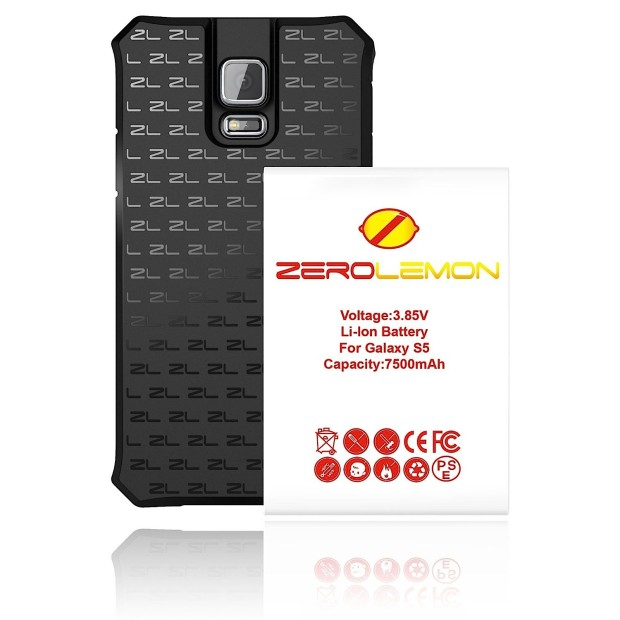 This is a large Samsung Galaxy S5 Extended Battery solution.