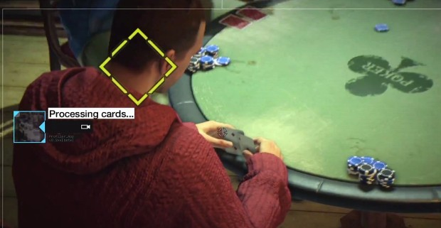 In Watch Dogs you can play games and check in to locations.