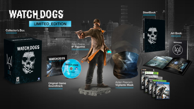 Here is everything in the Watch Dogs Limited Edition version.