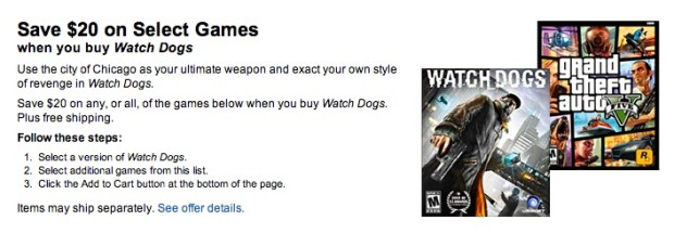 There are some Watch Dogs midnight release deals to be had.