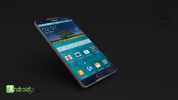 This new Samsung Galaxy S6 concept features a design that incorporates metal.