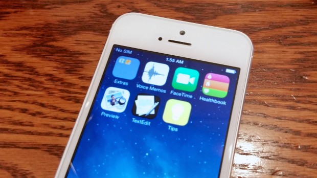 The iOS 8 announcement is close as is a beta, but the public release is still months away.