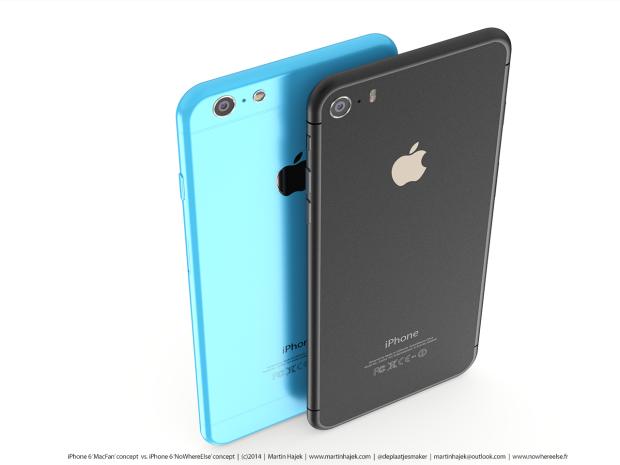 iPhone 6 Concept - iPhone 6c