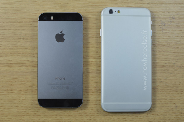 New photos show a mockup  iPhone 6 vs iPhone 5s with precise dimensions.