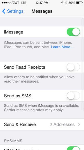 First, try toggling iMessage on and off. I've had success with this before.
