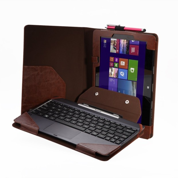 poetic leather keyboard for asus transformer book