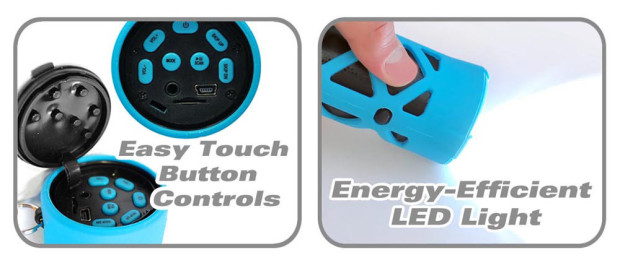 pyle rocket torch buttons and led flashlight