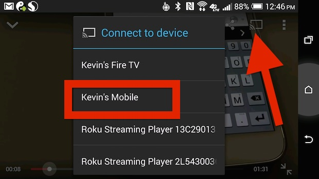youtube app with chromecast support