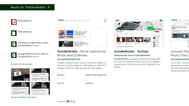 Bing SmartSearch
