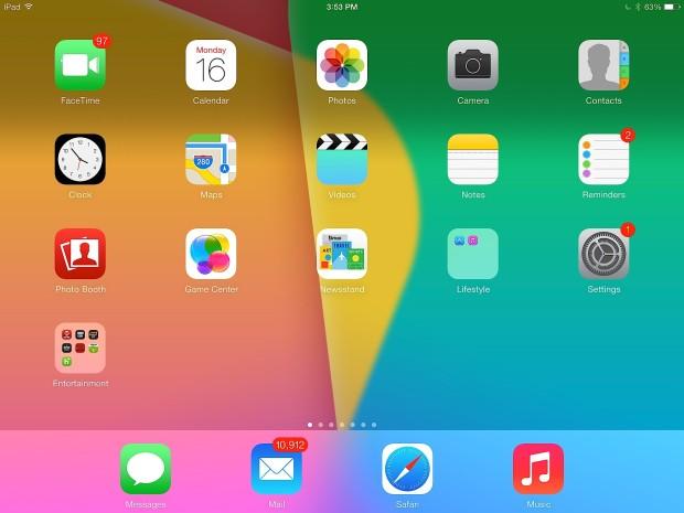 Tap on Settings to get started adding Emoji on iPad.