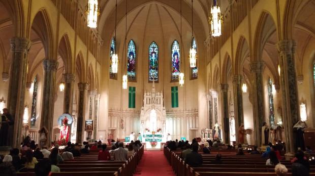 LG G3 Review: Sample photo at St.Patricks, San Francisco. ISO 350 1/17 sec, f 2.4