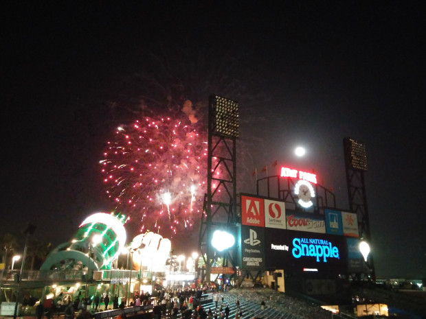 LG G3 Review sample photo of fireworks