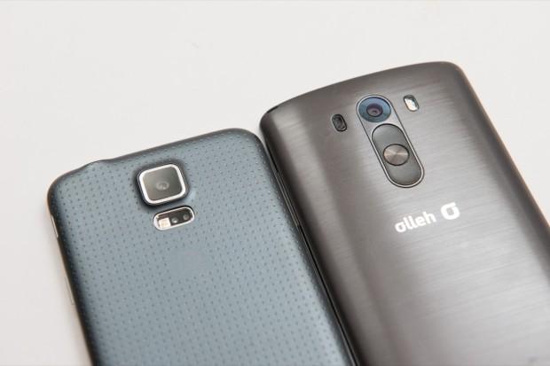 Samsung Galaxy S5 vs LG G3