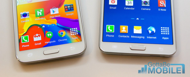 Samsung Galaxy S5 vs Galaxy Note 3 - 005-XL