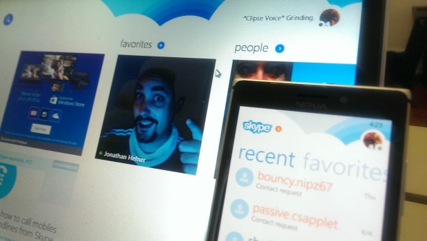 Skype in Windows 8.1