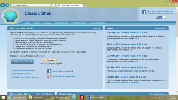 Turn Off the Start Screen & Get the Start Menu Back in Windows 8 (7)