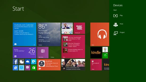Windows 8 Share Charm