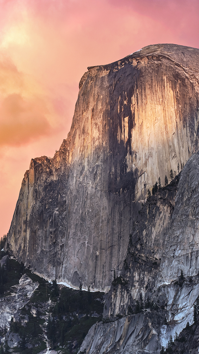 How To Get The Os X 10 10 Yosemite Wallpaper On Your Iphone Ipad