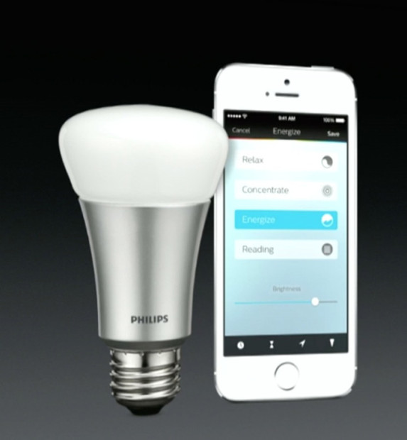 HomeKit will seamlessly integrate iOS devices with home automation equipment like light bulbs.