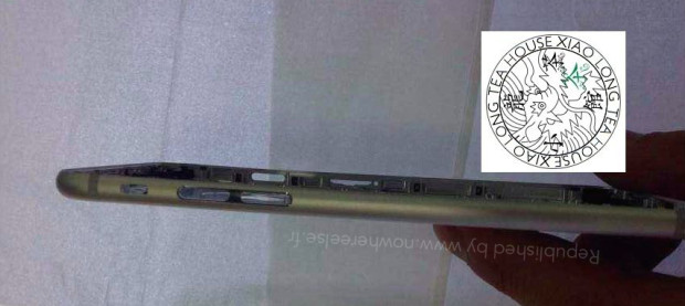 A new leak shows a thin iPhone 6.