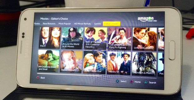 The Amazon Instant Android app is on the way according to an Amazon executive.