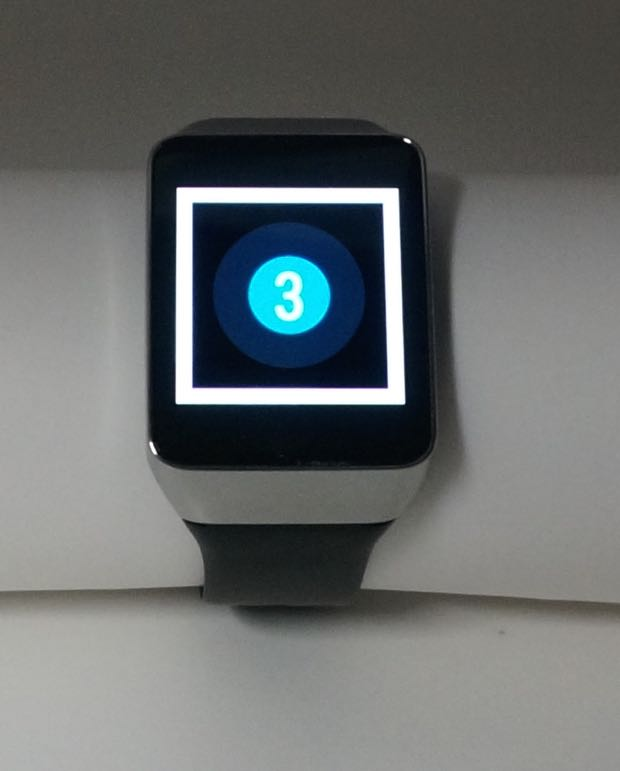 countdown timer on android wear