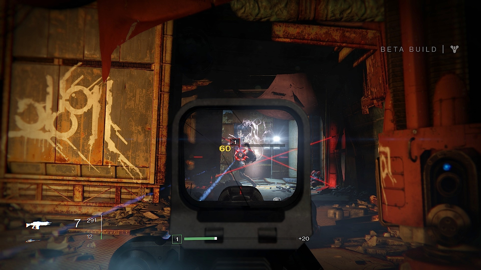 Destiny beta firefights are more fun with friends.