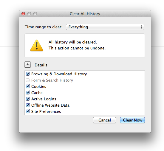 Firefox-history