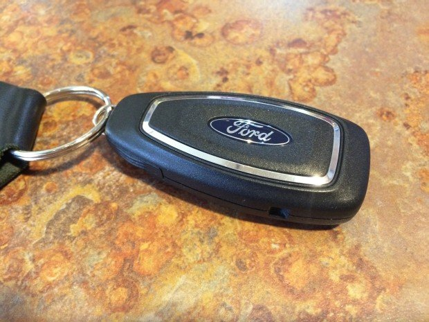 This is a Ford smart key, which is an Intelligent Access option on many new Fords.