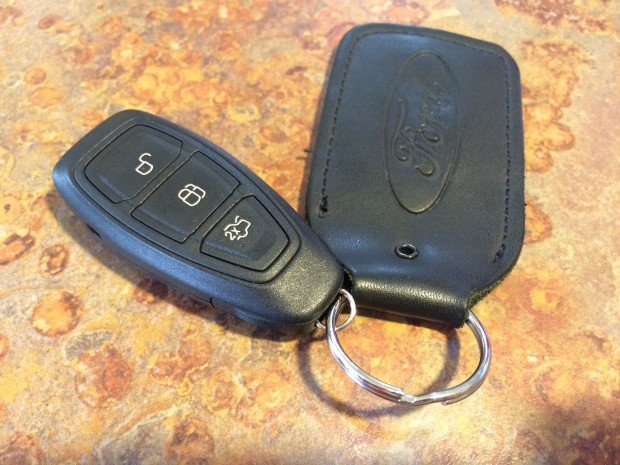You can also press a button to use the smart key.