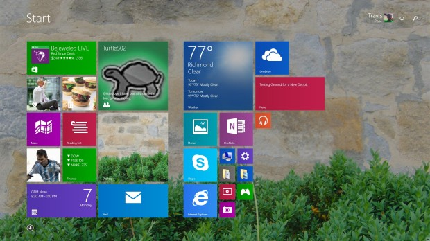 How to MakeTextandApps Larger in Windows 8.1 (1)
