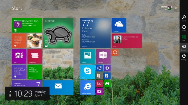 How to MakeTextandApps Larger in Windows 8.1 (2)