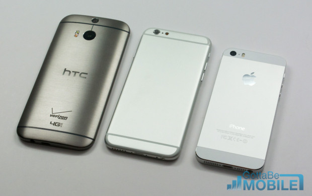 The white lines on this iPhone 6 mock-up may be less obvious, closer to the design of the HTC One M8.