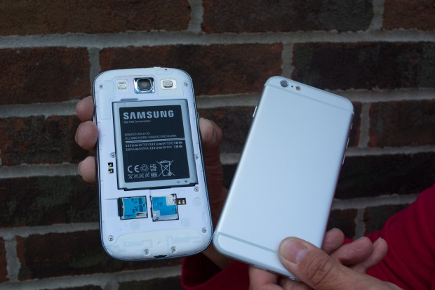 Samsung lets you add memory and swap batteries, but the iPhone 6 won't likely match this feature.