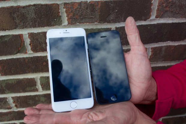 The iPhone screen size will boost from 4-inch on the iPhone 5 to 4.7-inch on the iPhone 6.