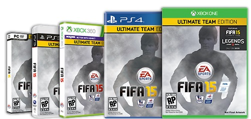 If you play FIFA Ultimate Team you should check out the special FIFA 15 Ultimate Team Edition.