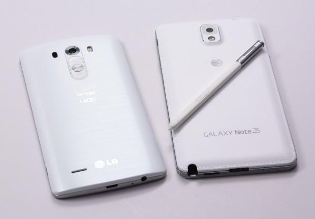 LG G3 vs Galaxy Note 3 - 4
