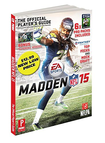 The Madden 15 strategy guide includes $9 in MUT packs and costs less than $9.