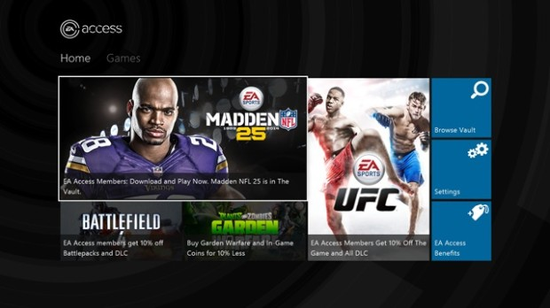 Play before the Madden release with EA Access.